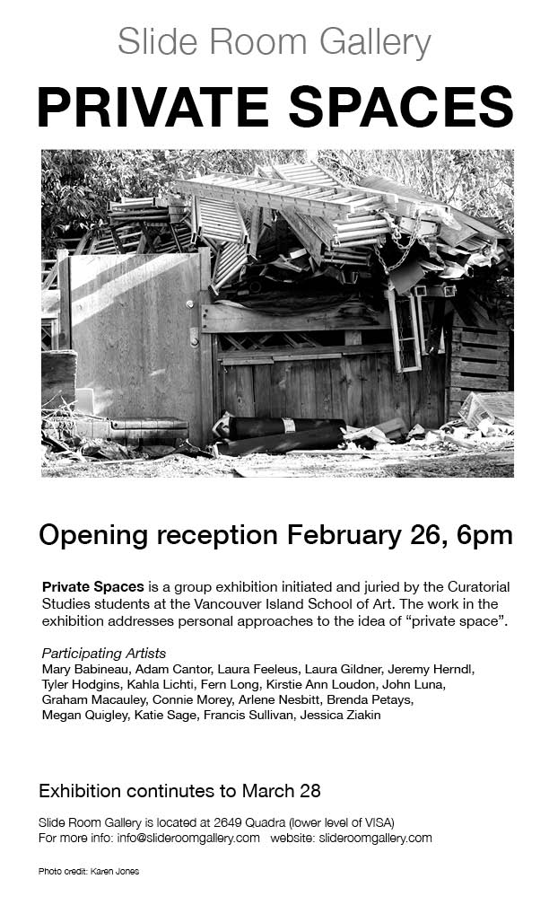 private spaces exhibition poster v 2